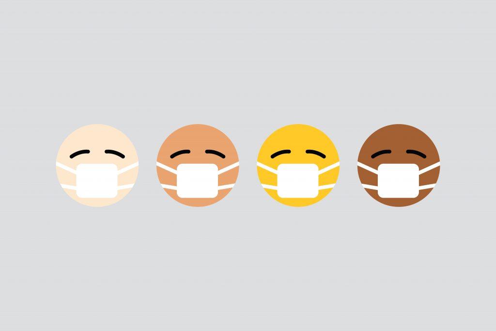בעקבות וירוס הקורונה אנשים לובשים מסכות ונדרשים למצב של בידוד חברתי